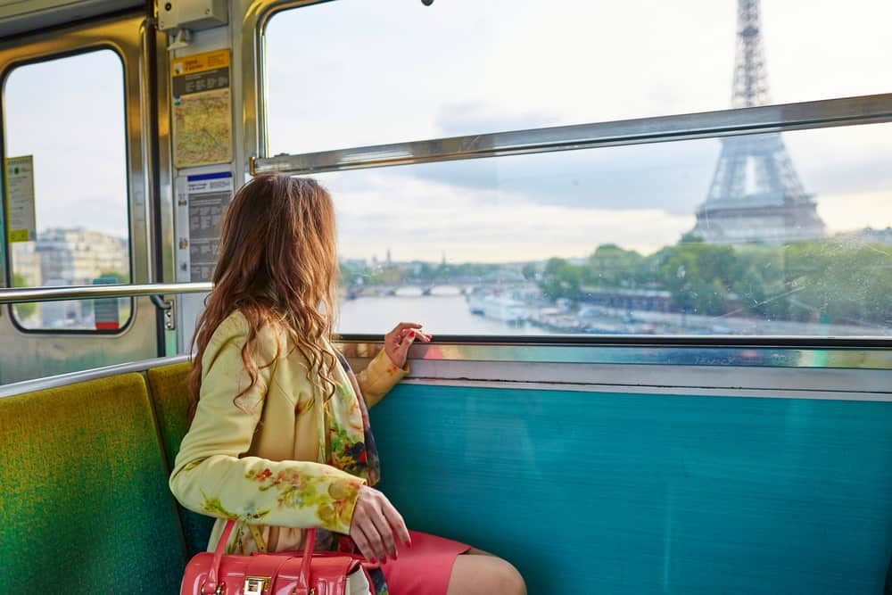 Earplugs are a must add to your Europe packing list as they offer quiet on busy travel days, like when taking a train into Paris!
