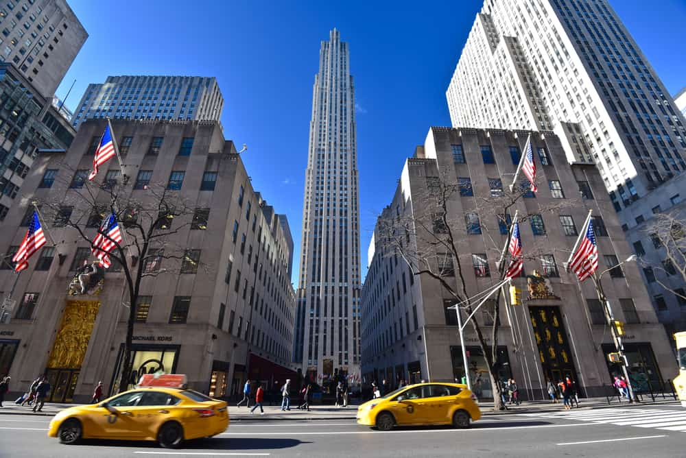 Rockefeller Center, a great place to visit when seeing New York in a day!