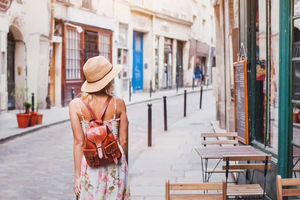 You must be prepared to explore the streets of Paris, so don't forget a water bottle!