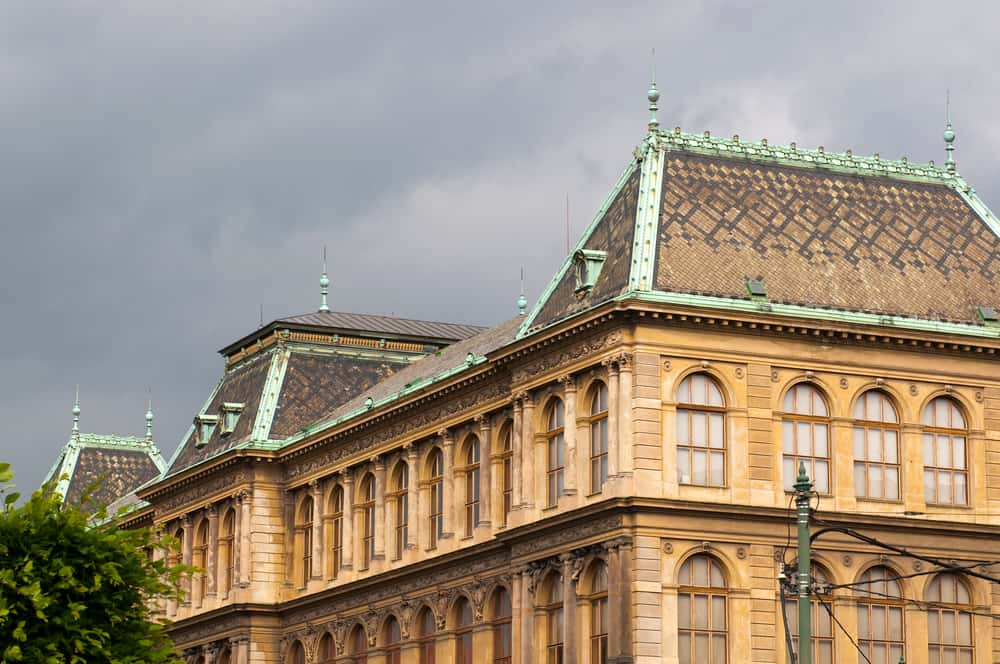 The Museum of Decorative Arts has wonderful exhibits for you to see during Prague in winter