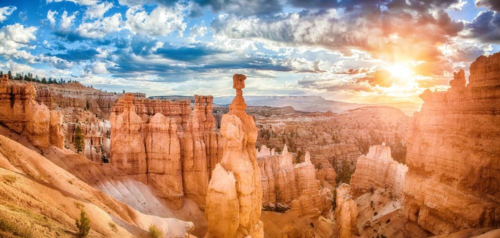 hoodoos in Bryce Canyon Utah