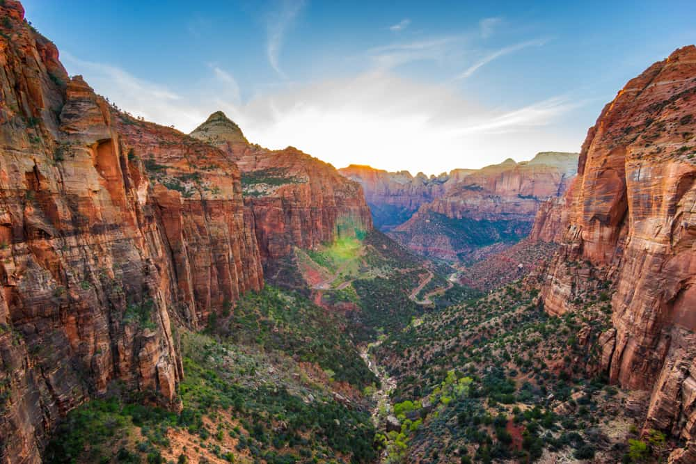 stunning views from Zion National Park