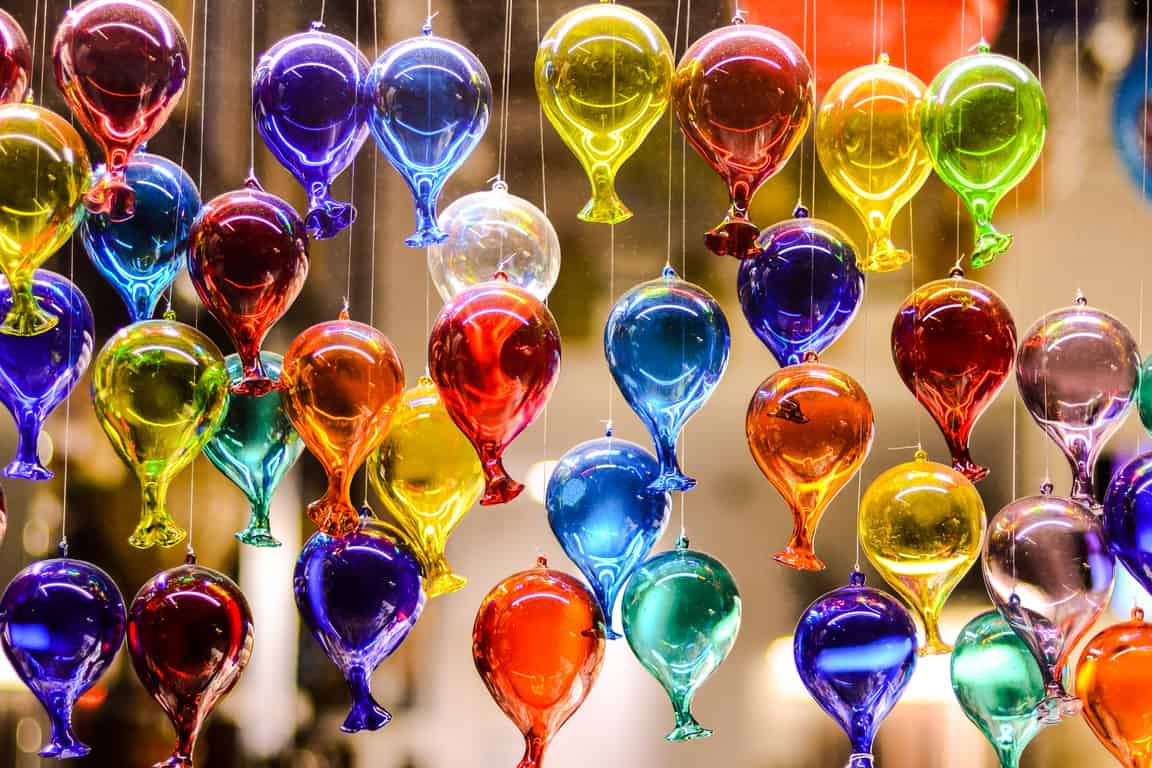 For some local artistry while in Venice in winter visit Murano glassmakers