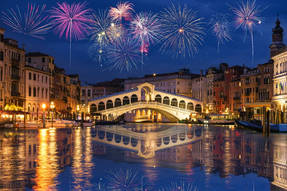 Drop by the Rialto Bridge Area and Shops without the crowds while visiting Venice in winter