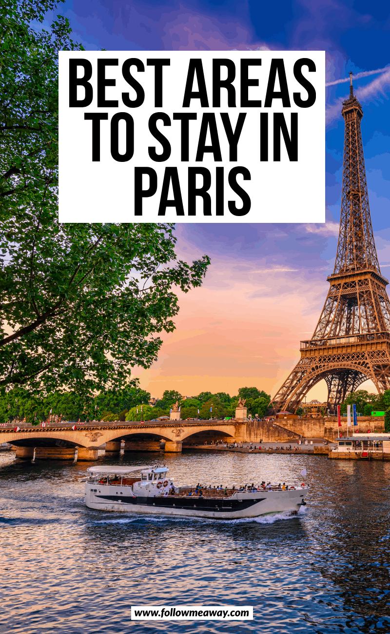 best areas to stay in paris