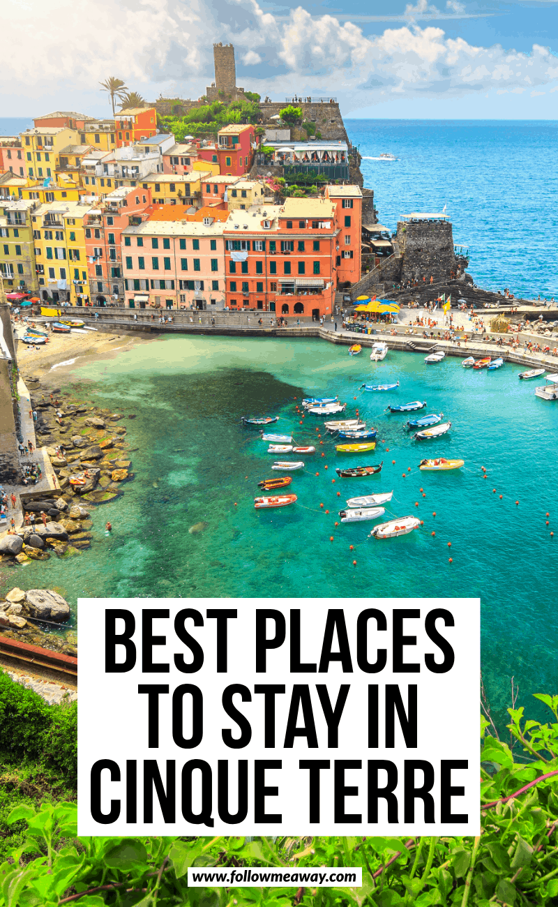 best places to stay in cinque terre