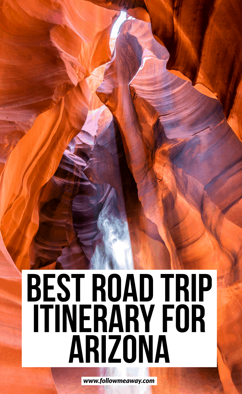 best road trip itinerary for arizona