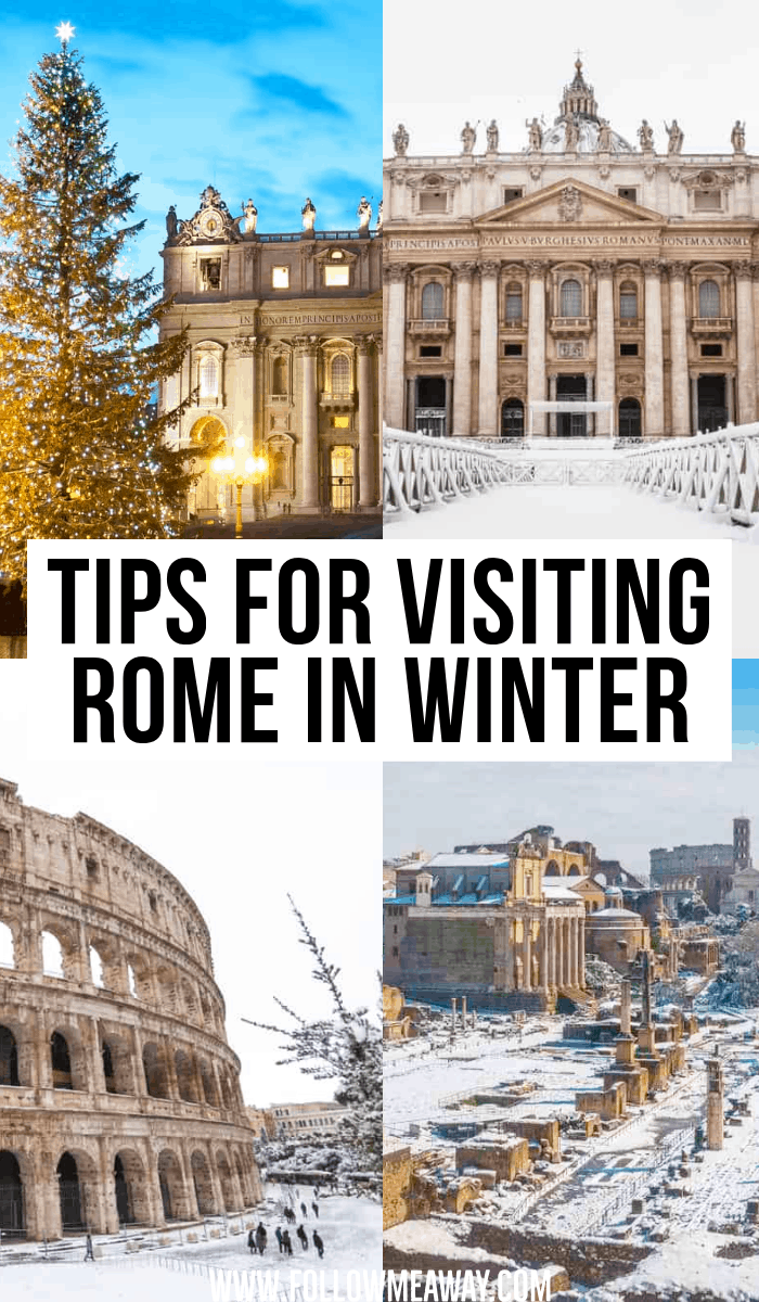 tips for visiting rome in winter