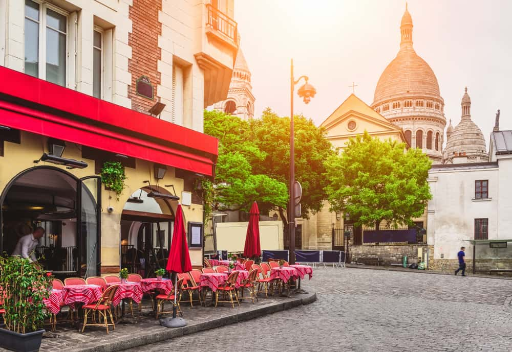 view of Montmartre, one of the best areas in Paris