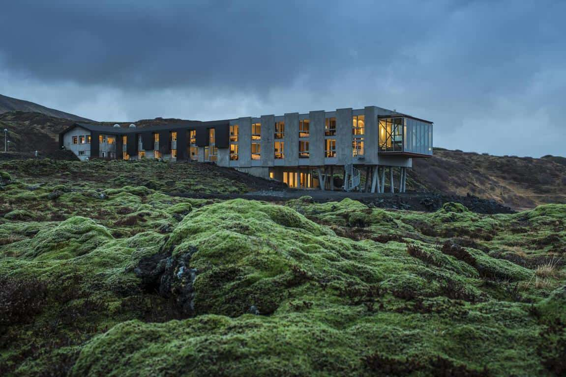 Ion Adventure Hotel is where to stay in Iceland on the Golden Circle
