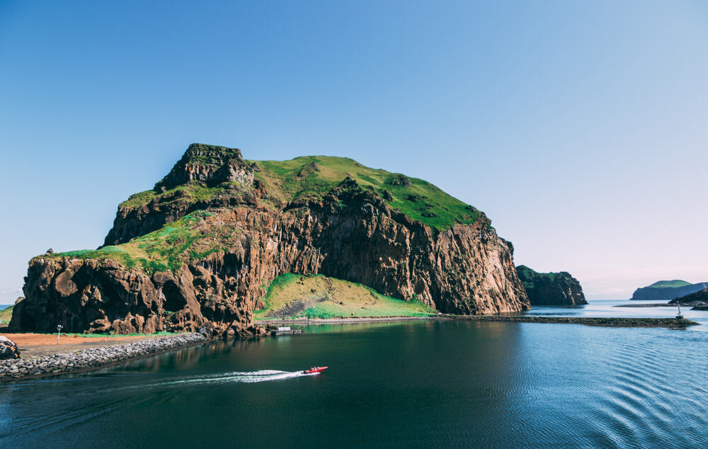 Vestmannaeyjar is where to stay in Iceland to see an archipelago