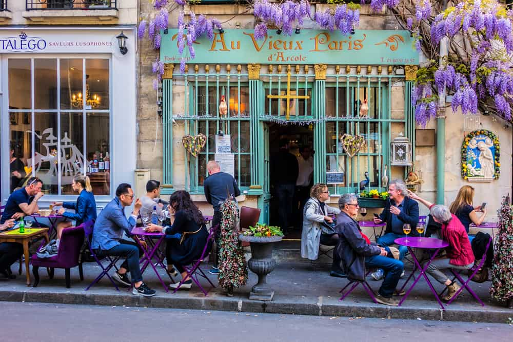 where to stay in Paris for foodies is the 4th Arrondissement