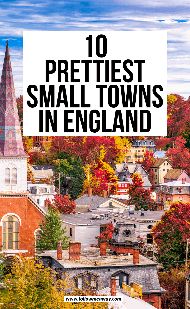 10 prettiest small towns in england