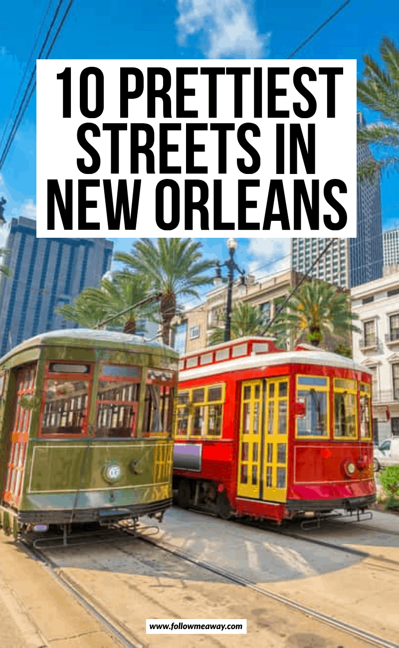 10 prettiest streets in new orleans
