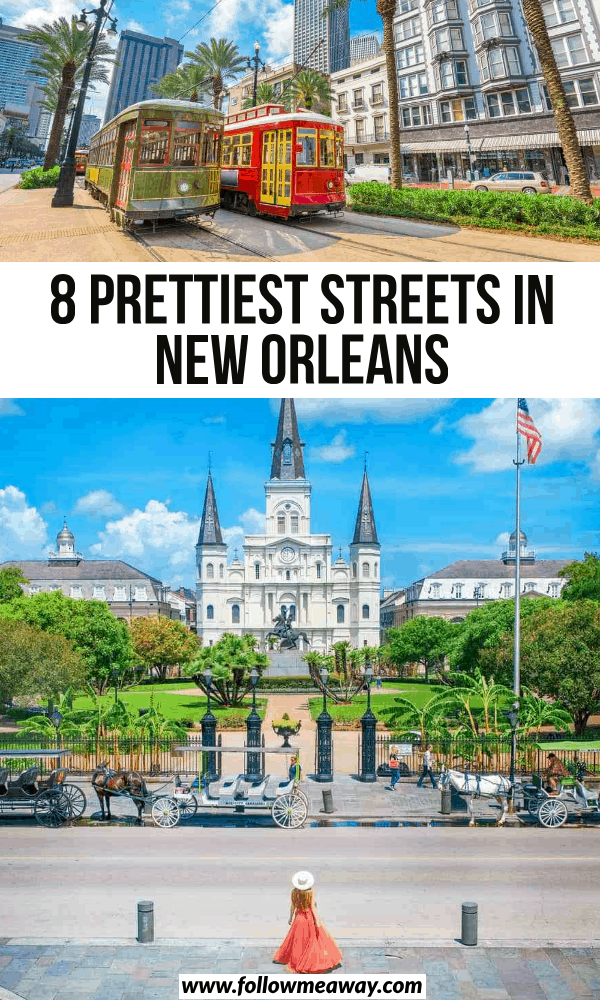 8 prettiest streets in new orleans