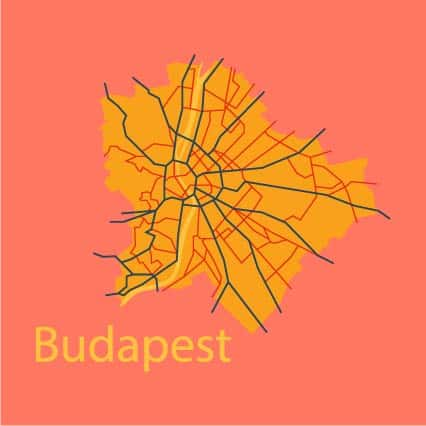 Budapest in winter is easily accessible through different public transportation systems