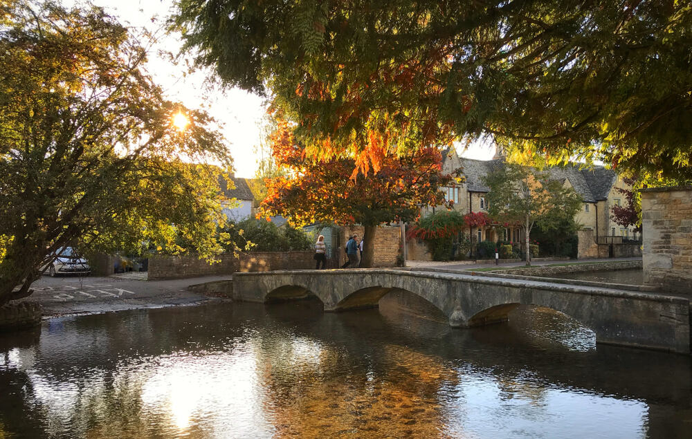 Photo of one of the prettiest English Villages, Bourton on the Water