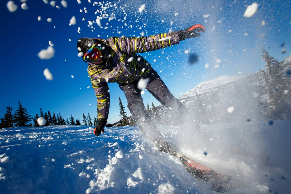 The GoPro Alternative Check Out The Campark 4K Action Cam is great for still picture action shots during snowboarding