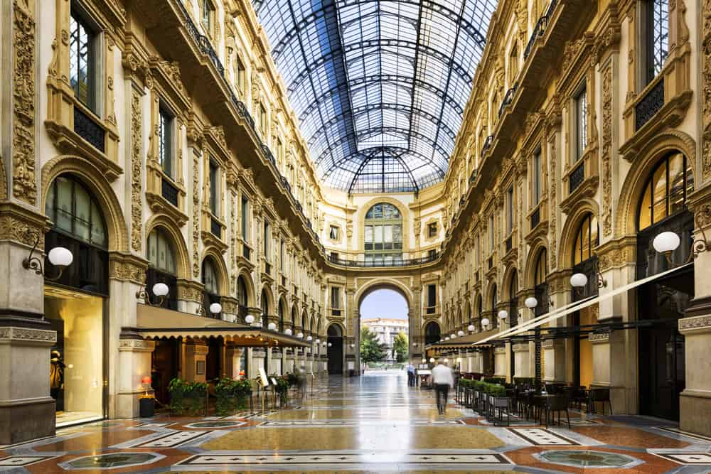 go shopping in Milan to end your Italy road trip