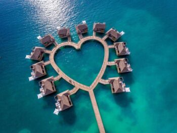 Photo of Sandals South Coast Heart Shaped Over Water Bungalows