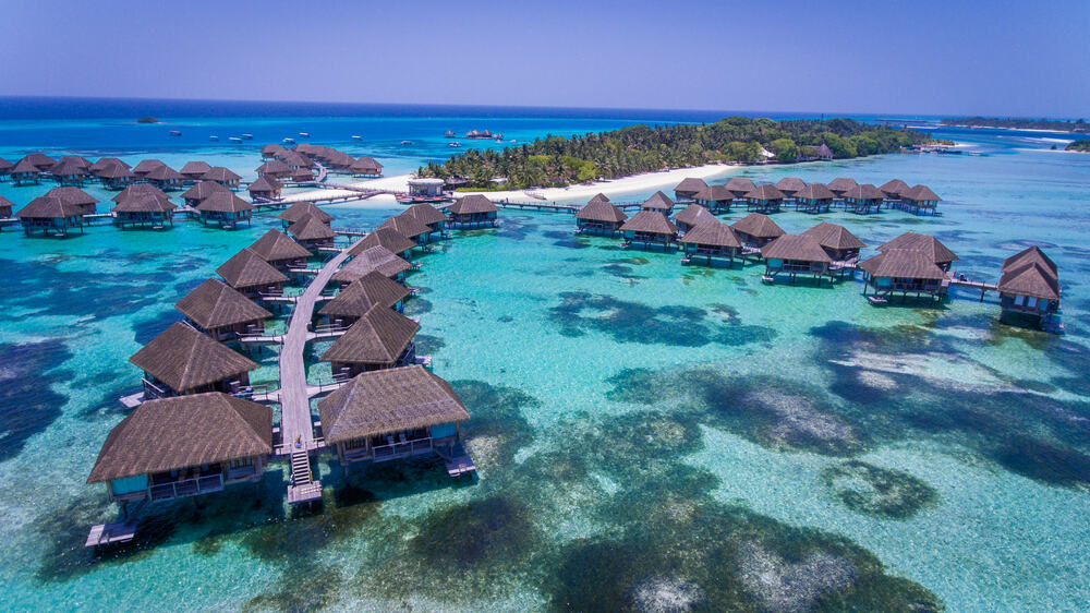 Photo of Over Water Bungalows Like the One You Might Stay in for Your Maldives Honeymoon