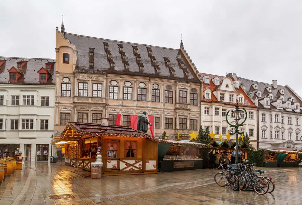 Augsburg at Christmas on the Romantic Road Germany