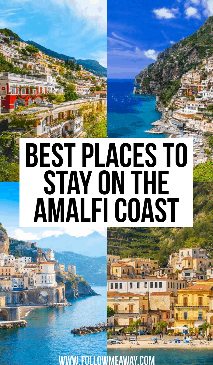 best places to stya on the amalfi coast