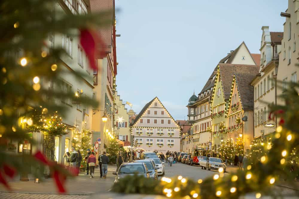 christmas markets in germany rothenburg market