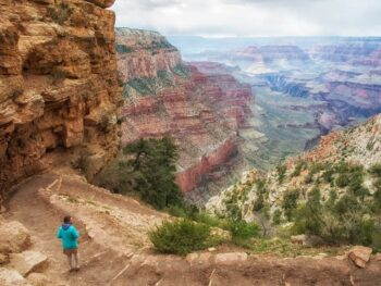the South Kaibab Trail is one of the most popular Grand Canyon hikes
