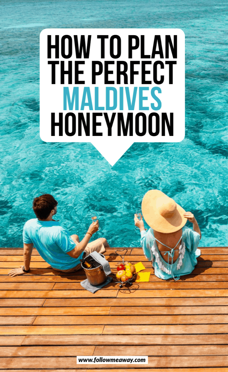 how to plan the perfect maldives honeymoon