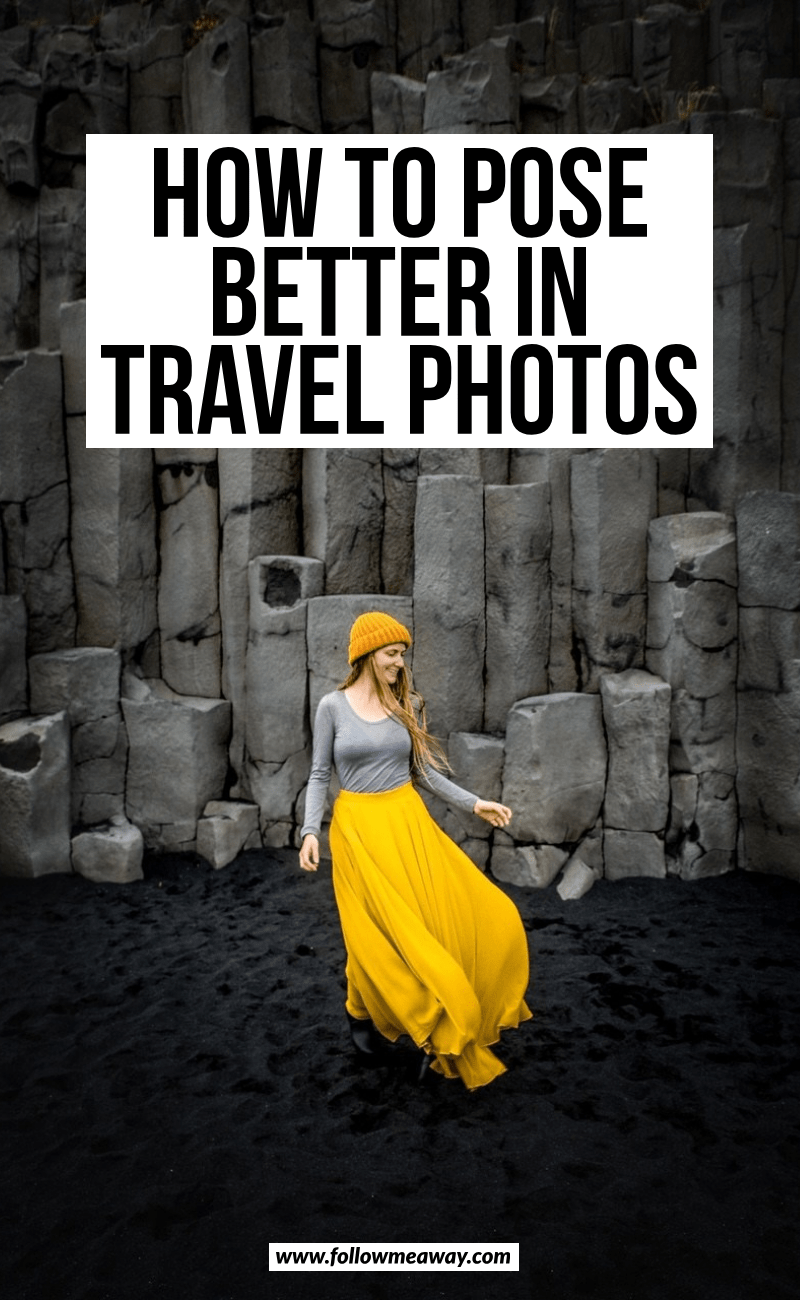how to pose better in travel photos