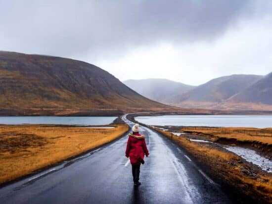 add a parka to your Iceland packing list for winter nights