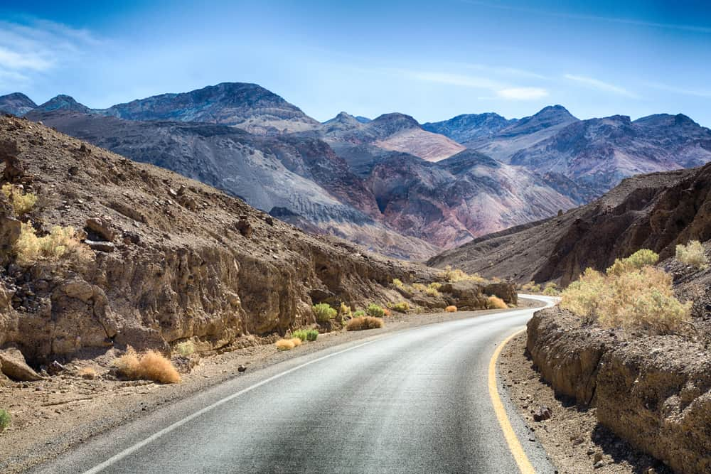 one of the best things to do in Death Valley is explore Artists Drive