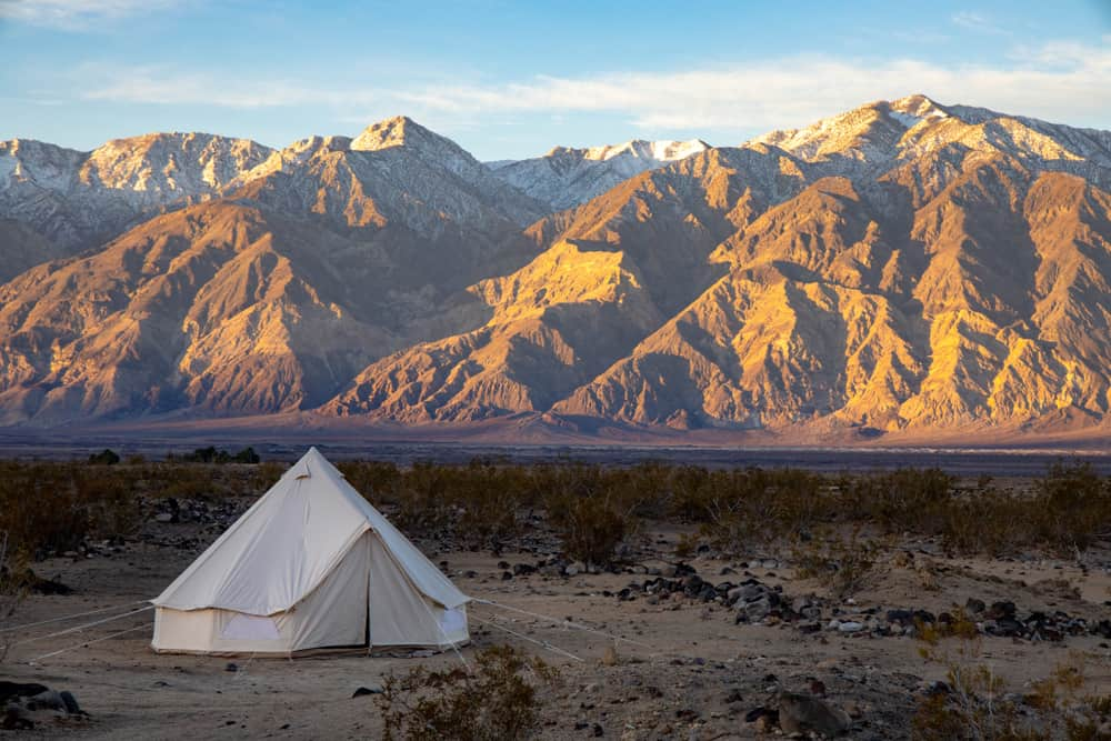 camping is one of the best things to do in Death Valley for multi-day trips