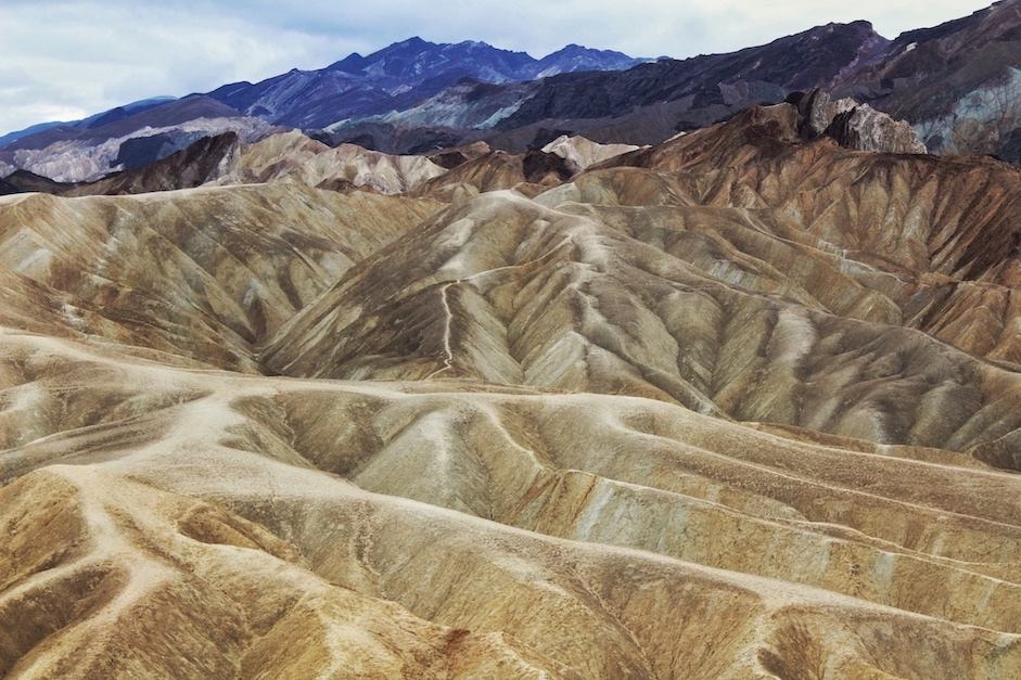 one of the best things to do in Death Valley is see stunning views at Zabriskie Point