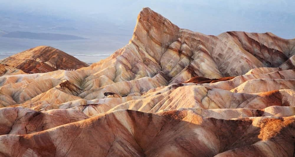 photographing sunrise at Zabriskie Point is one of the best things to do in Death Valley