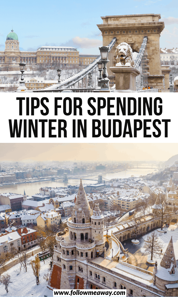 tips for spending winter in budapest