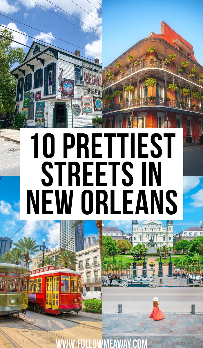 10 Prettiest Streets In New Orleans | best places to see in NOLA | where to go in NOLA | where to go in new orleans | cutest places to see in new orleans | best balcony restaurants in new orleans | bucket list locations for new orleans | instagrammable streets in new orleans | cutest places in NOLA | instagram spots in NOLA | where to eat in NOLA | best views in NOLA | prettiest views in new orleans | best photo destinations in new orleans | beautiful streets in NOLA | cutest streets in new orleans #neworleans #NOLA #traveltips
