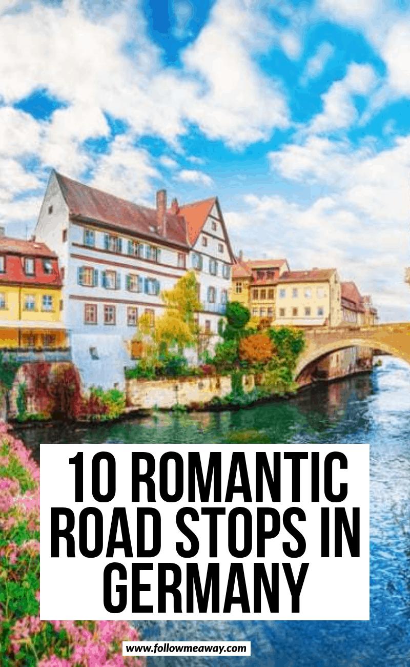 10 romantic road stops in germany