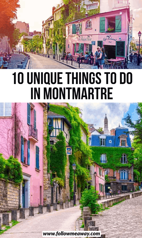 10 unique things to do in montmartre