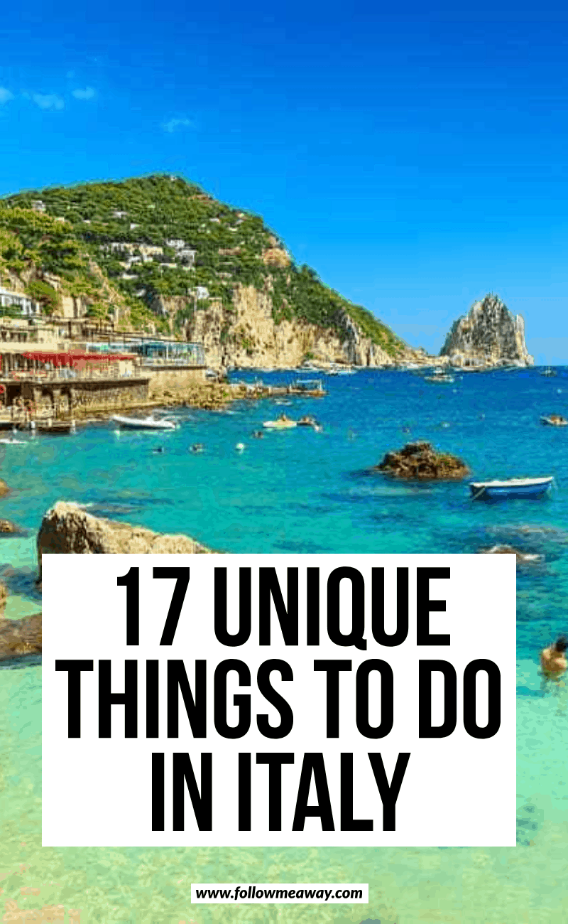 17 things to do in italy