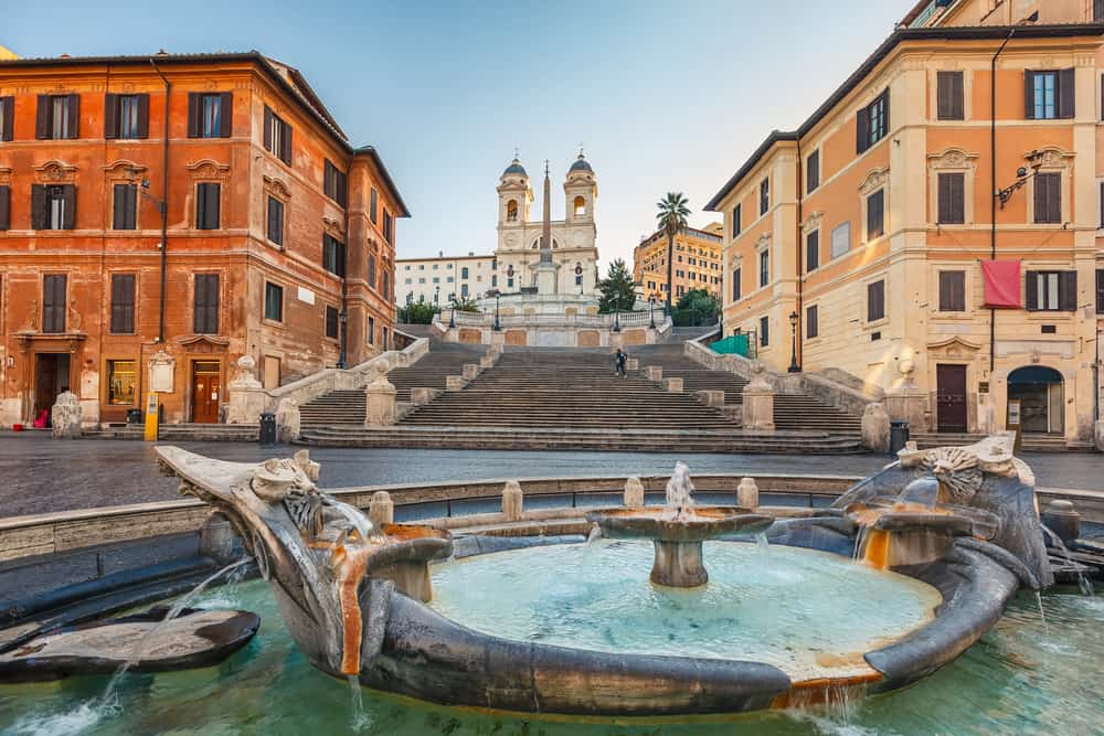 The Spanish Stairs are a great place to start your tours in Rome, as they are a fantastic and gorgeous meeting spot and have been throughout history.