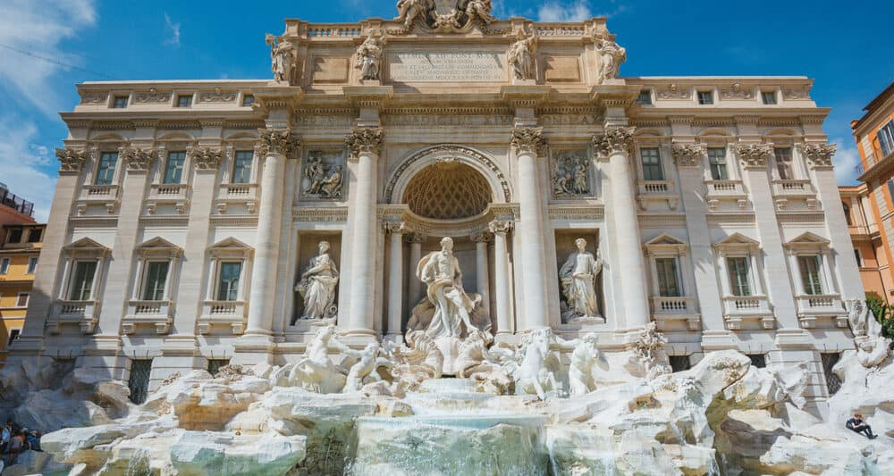 The Trevi Fountain is an iconic and historical monument of Rome and is a must see.