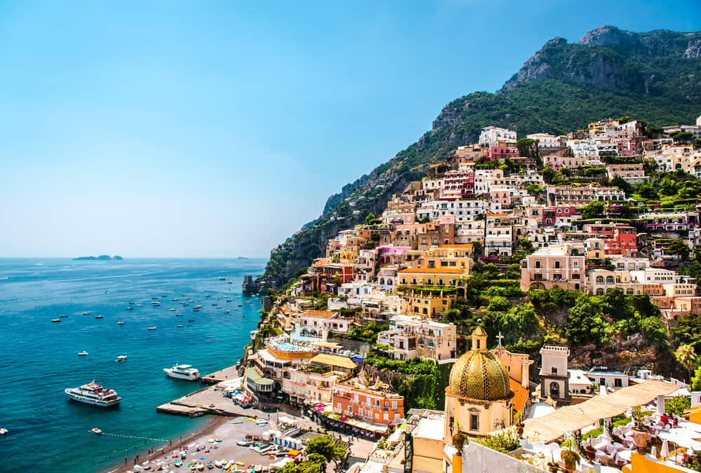 Spend time relaxing on the beach during your 14 days in Italy
