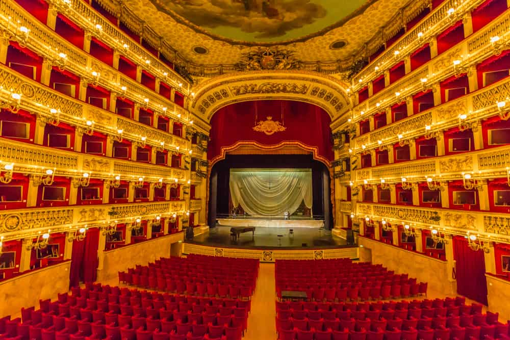 Attend an opera at the San Carlo Theater while in Naples