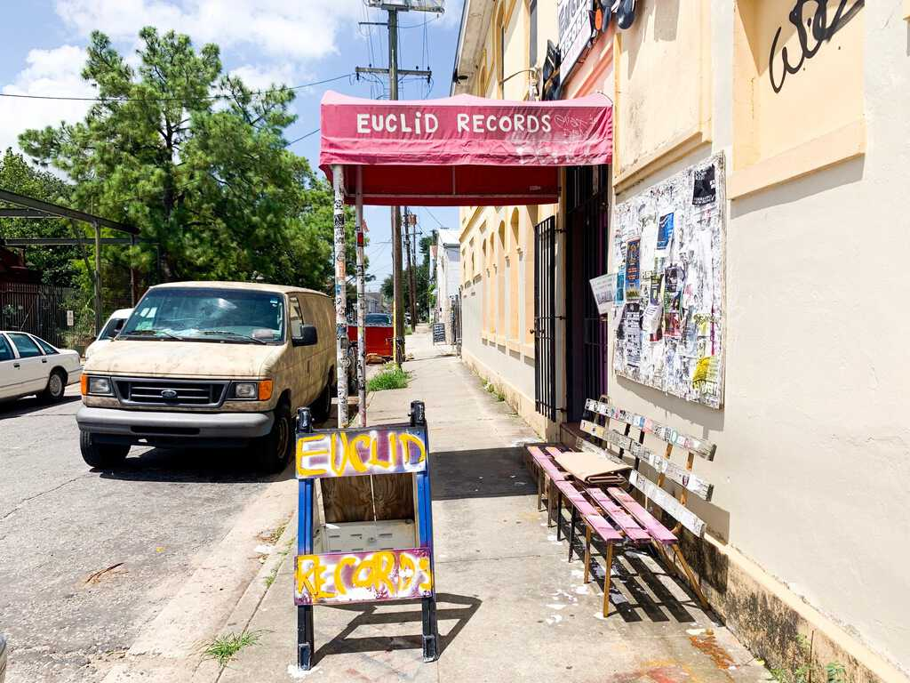 See Euclid Records on your 3 days in new orleans itinerary