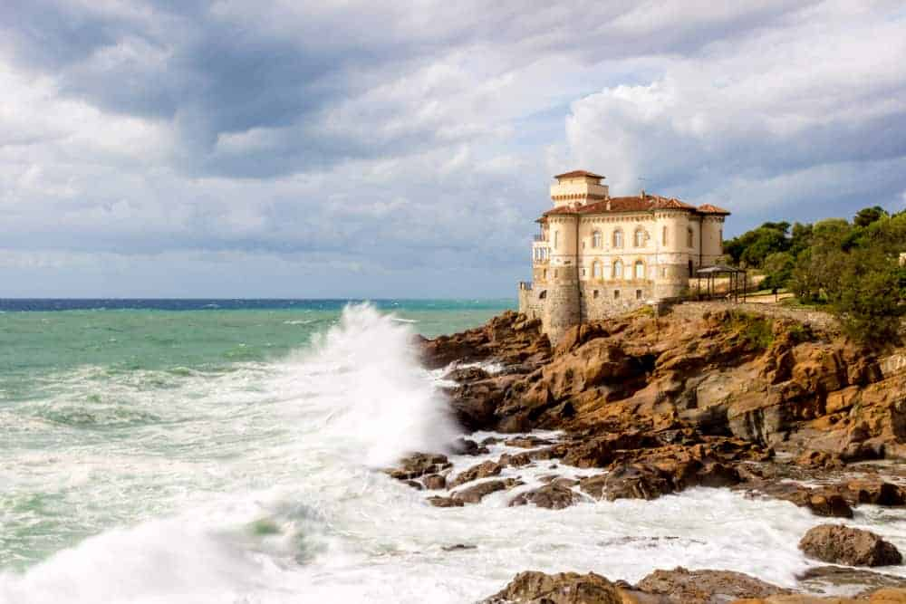 Castello di Boccale cliffside castle things to do in Italy