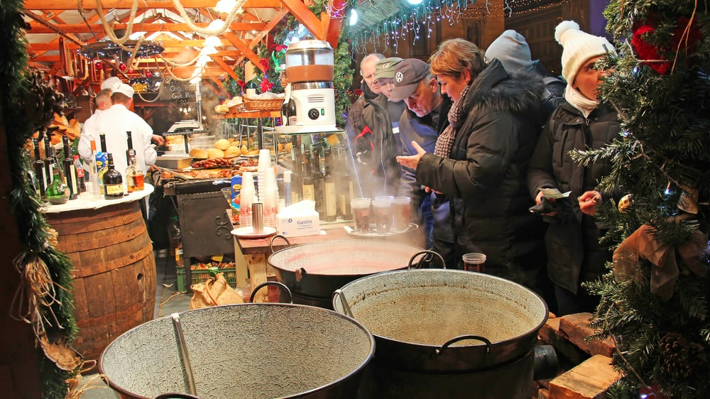 Enjoy one of Budapest's most popular Christmas markets