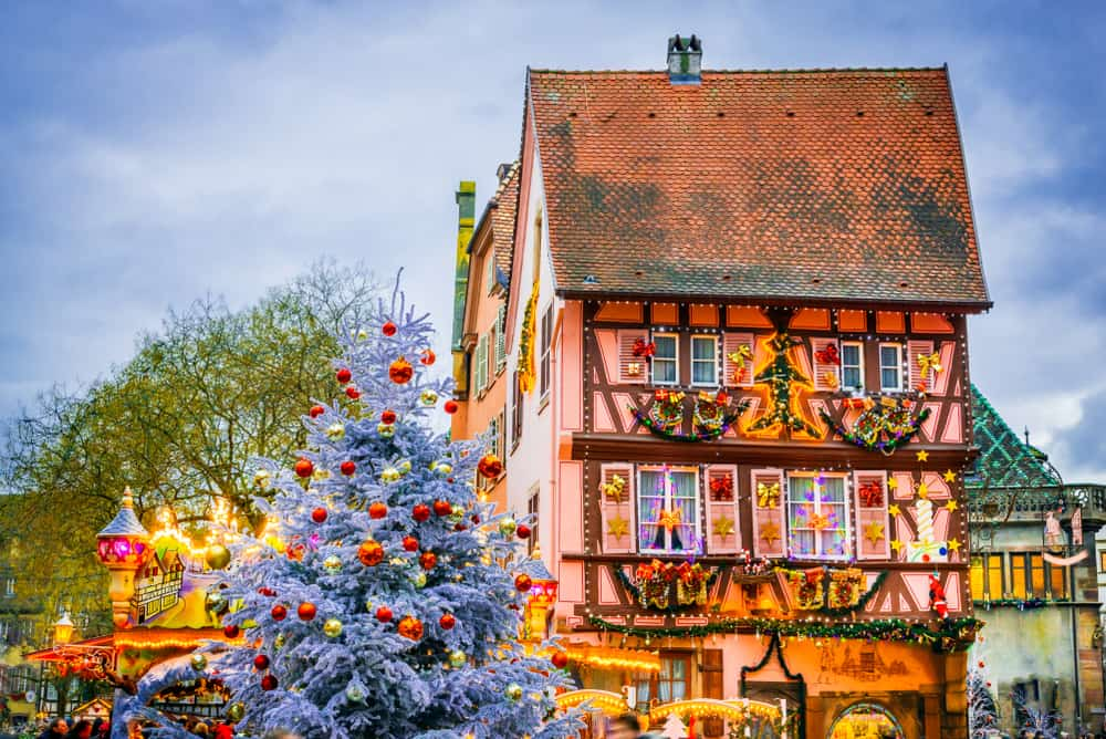 This French Christmas market is very charming