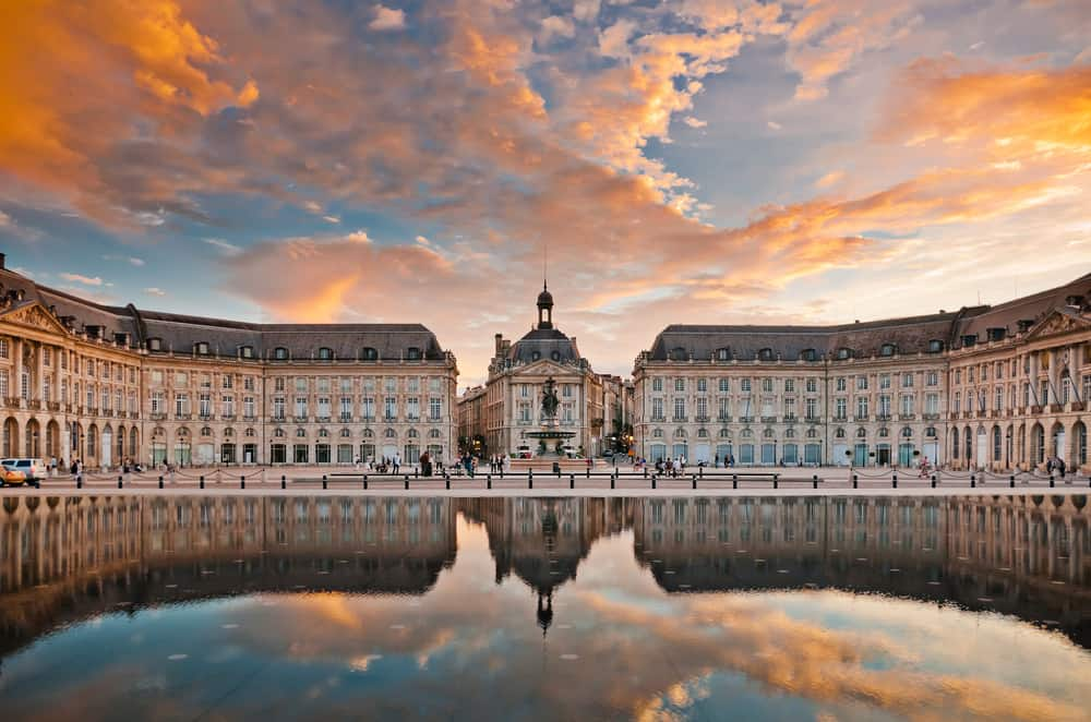 Beautiful image go Bordeaux, stop 4 on your France road trip